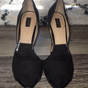 Zara women's black heels